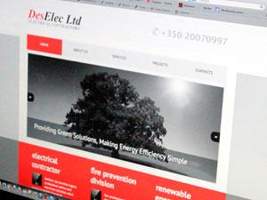 DesElec Website