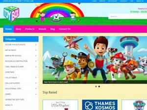 The Toy Box Gibraltar Website