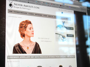 Silver Amulet Website
