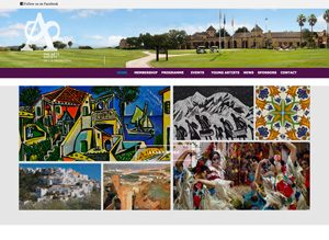 Arts Society de la Frontera website