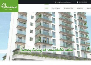 Clemence Suites website