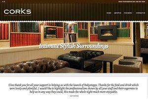 Corks website