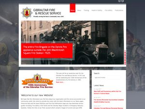 Gibraltar Fire & Rescue Services website