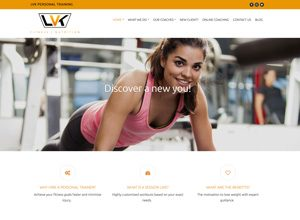 LVK Personal Training website