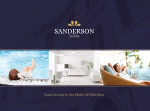Sanderson Suites Branding and Marketing
