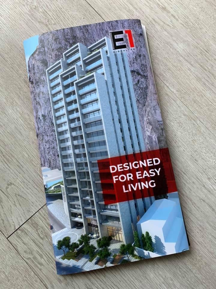 E1 Gibraltar Development, design marketing by Niche Creative Solutions
