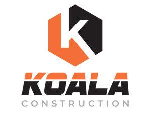 Koala Construction corporate branding