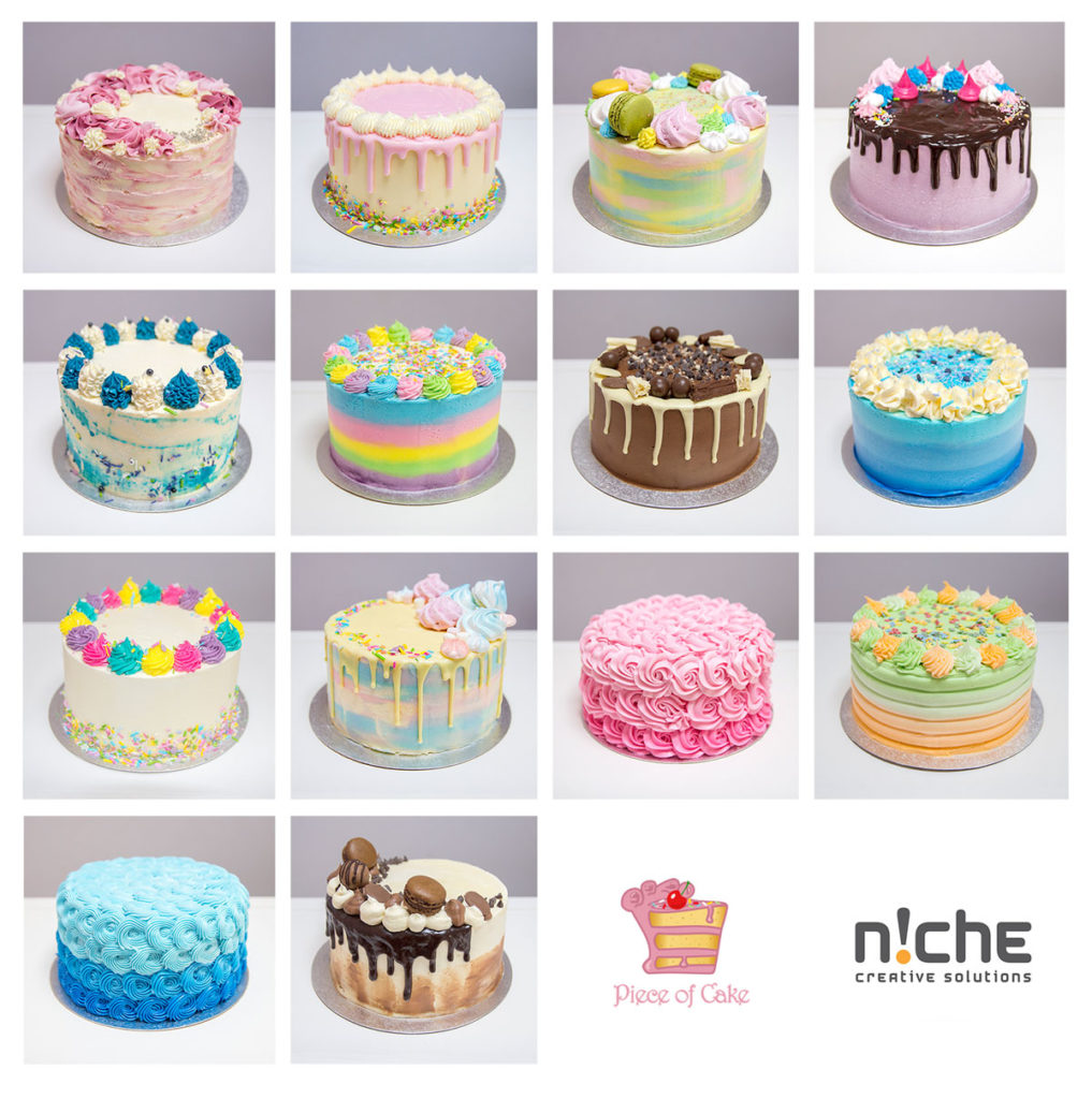 Piece of Cake, photos by Niche Creative Solutions